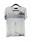 BASIC V-NECK T-SHIRT - JUMP