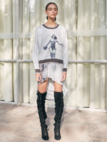 SWEATSHIRT - WOMAN PRINT