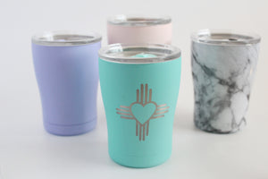 Heart Zia Engraved Tumbler