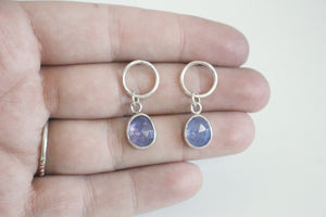 Tanzanite Hanging Earrings