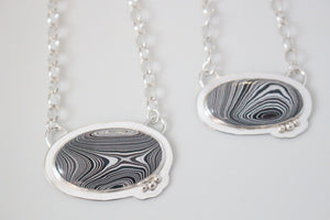 Fordite Galentine's Day Necklace Set