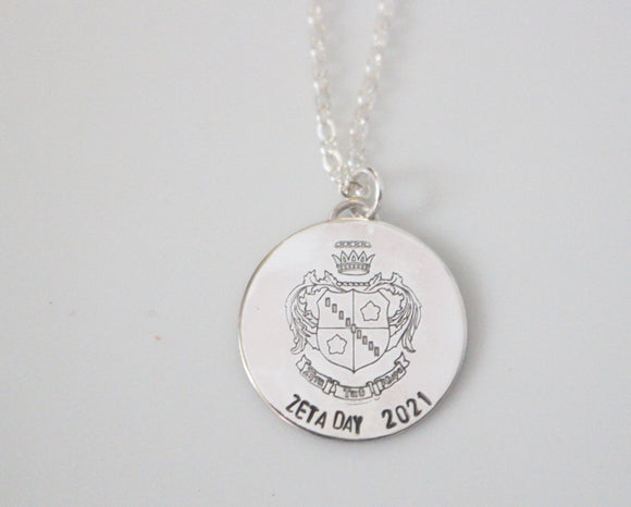 Zeta Day 2021 Crest Necklace