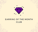 Earrings of the Month Club- 1 Month Purchase