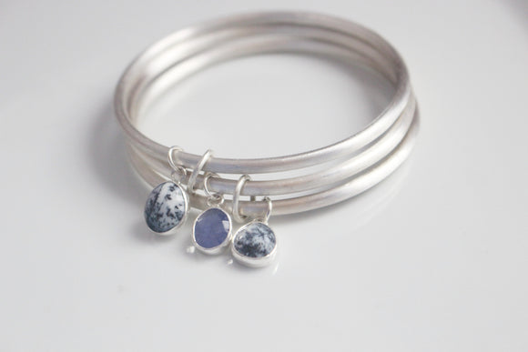 Snowy Mountains Majesty Bangle Set