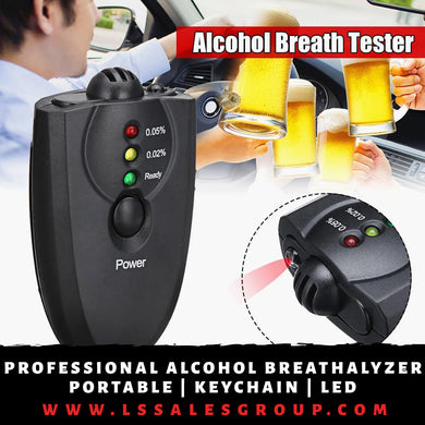 Mini Professional Alcohol Breathalyzer
