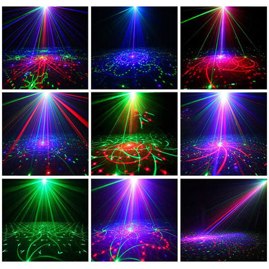 Led Disco Party Laser Lights
