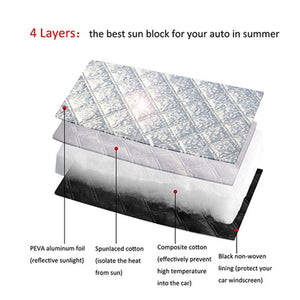 WINDOW SCREEN COVER Ice Snow Protector