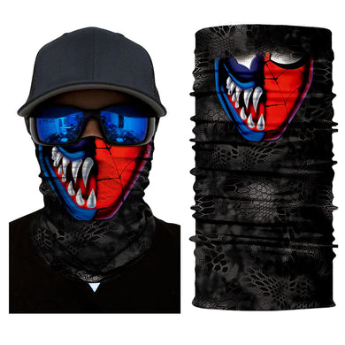 Winter Ghost Mask Skull Face Neck Cover