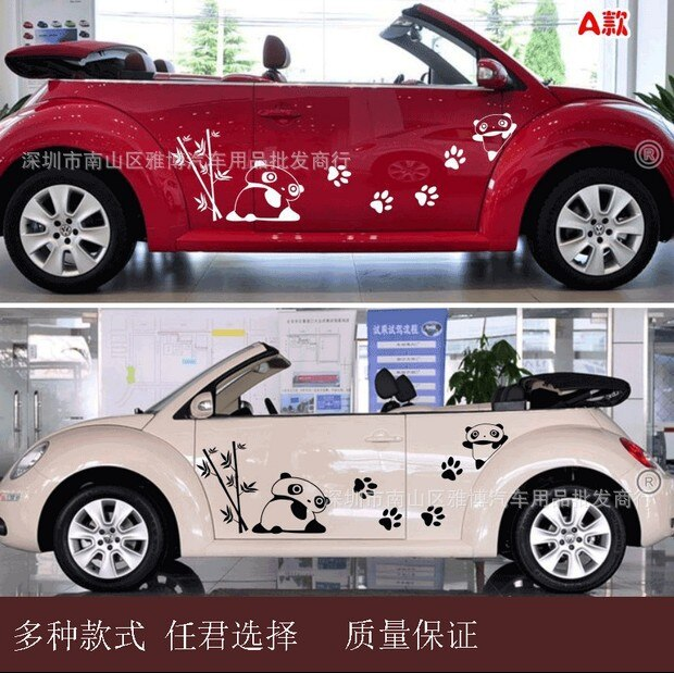 180cm Car Sticker Styling Butterflies Music Score Notes Decal Whole Body Vinyl Decor Car Body Covers Auto Accessories - Black
