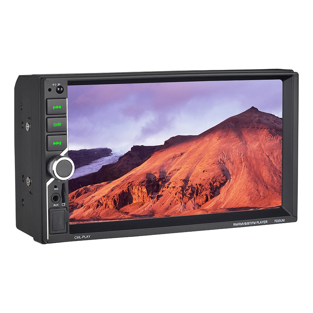 7035 Car Video Player 7 inch Hd Player Mp5 Press Screen Digital Display Bluetooth Multimedia Usb Car Radio Autoradio