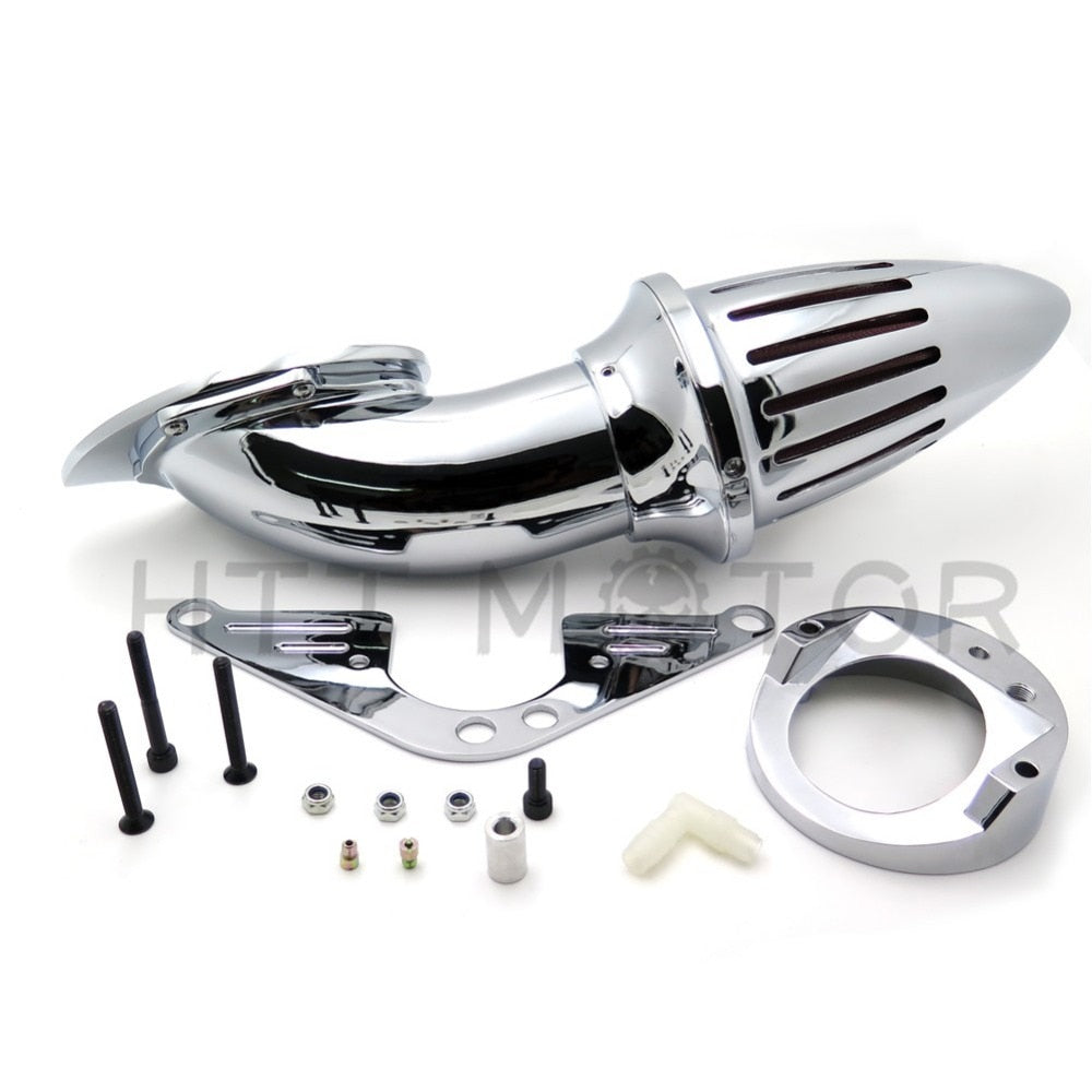 Aftermarket free shipping motorcycle parts  Air Cleaner intake for Yama RoadStar 1600 XV1600A 1700 XV1700 1999-2012 Chrome