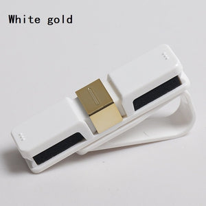 Car styling  glasses holder ,Hot sale ABS sunglasses clip, card ticket money holder ,  glasses clip , clip,car hook - white