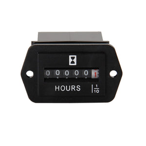 DC6~50V Mechanical  Hour Meter for Tractor ATV Jet Ski Yacht marine farm machinery industrial equipment