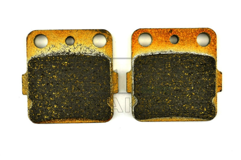 Free Shipping Organic Brake Pads For Front YAMAHA ATV YFM 450 Grizzly 4x4 2011-2014 YFM 350 Grizzly 2x4/4x4/IRS 4x4 2010-2014