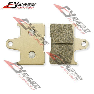 Free worldwide Shipping For SUZUKI GSXR1000 K1/K2/K3/K4/K5/K6 2001-2006 Motorcycle rear after brake pads