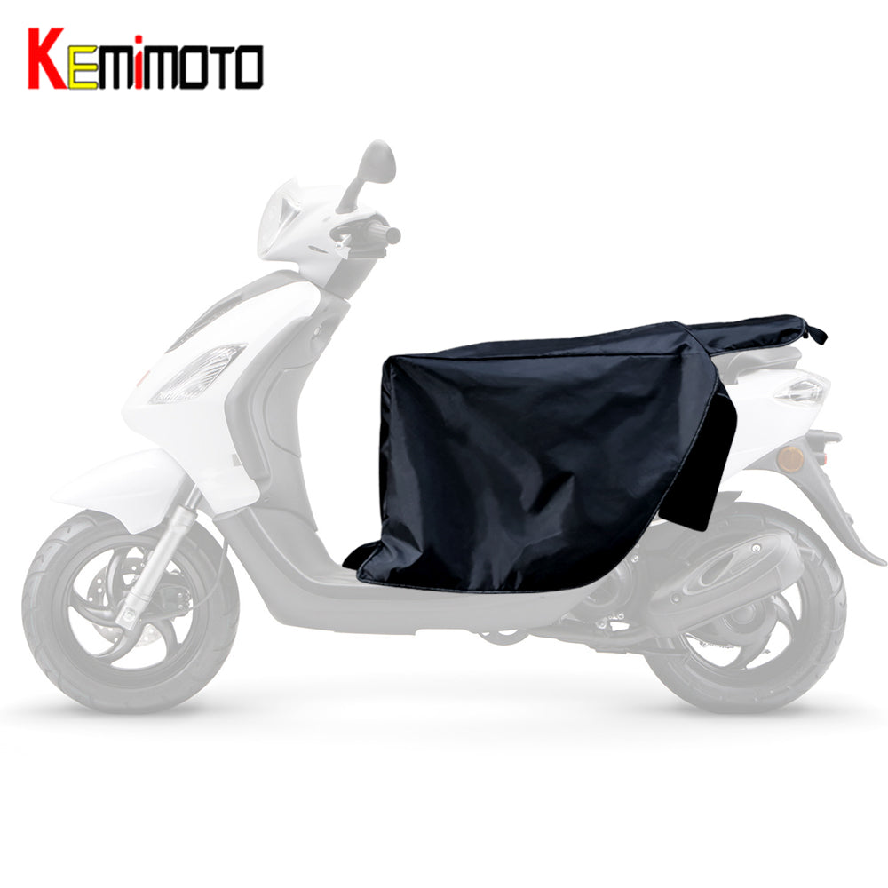KEMiMOTO Legs Covers For Scooters Waterproof Motorcycle Winter Quilt Knee Warmer Protector For Vespa GTS GTV LX
