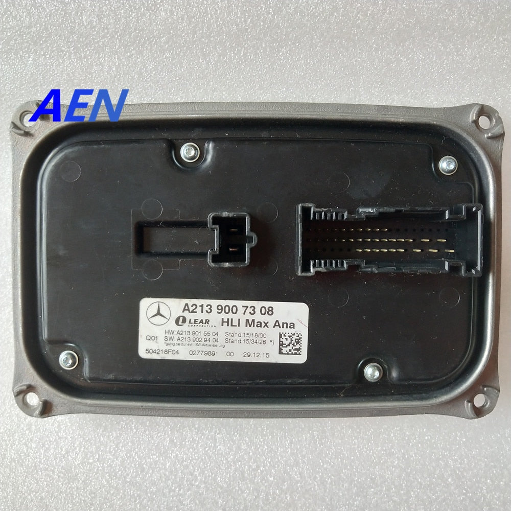 LED Module Headlight Control Unit A2139007308 for HLI Max Ana Mercedes-Benz  E CLASS W213 S213 A2139015504 A2139029404