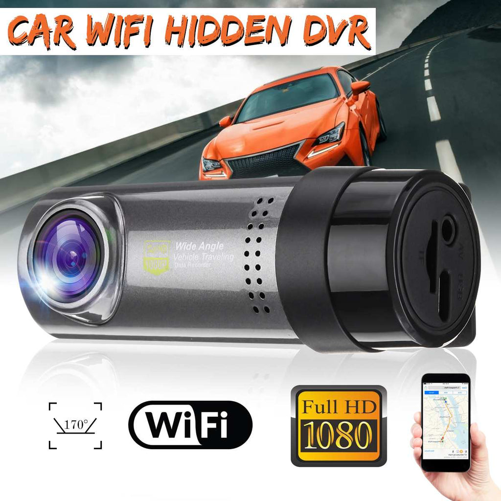 Mini Smart WiFi Full HD 1080P Car DVR Camera Wireless Auto Registrator Camcorder Video Recorder Dash Cam Parking Monitor