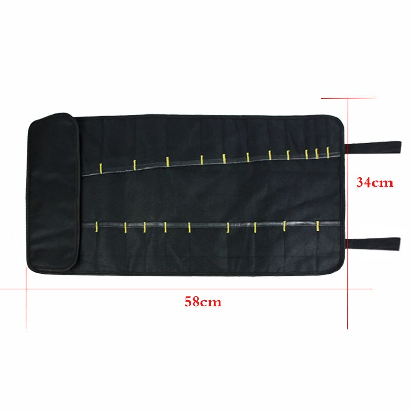 Multi Function Portable Car Repair Tool Bag Reels Storage Canvas Sheet metal bag 58x34cm