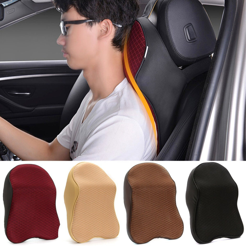 Space Memory Foam Car Neck Pillow Head Restraint Headrest Pillow Automobile Portable Travel Auto Car Pillow Headrest Support