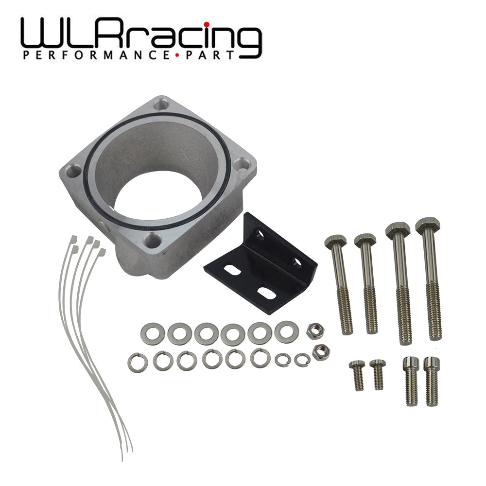 WLR - FOR New R33 RB25DET Skyline Front Facing Intake Manifold Original Throttle Body Adaptor Kit Throttle Body Plate TBS61