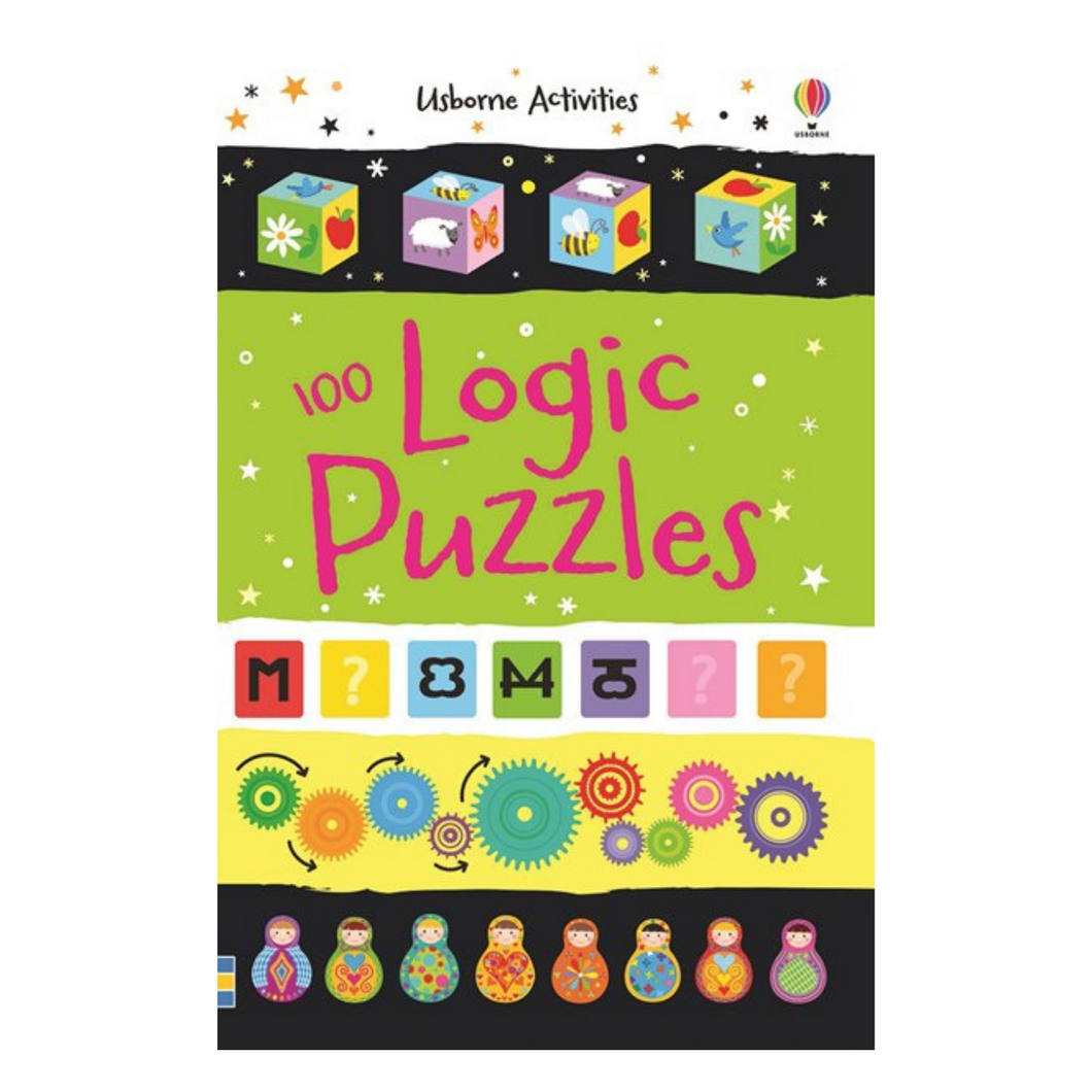 100 Logic Puzzles - activity book cover