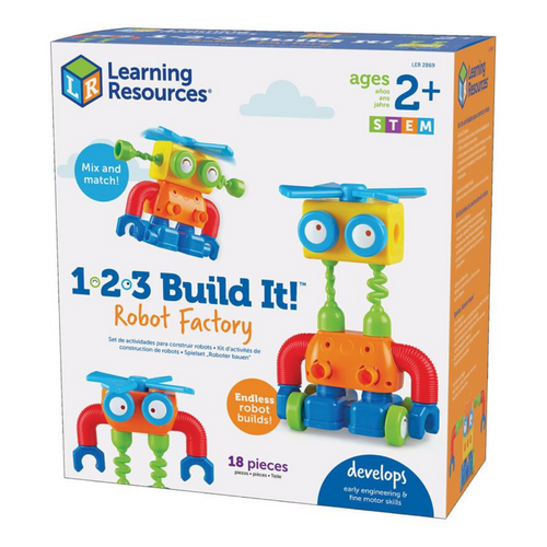 123 Build It Robot