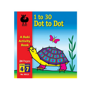 1 to 30 Dot to Dot Book