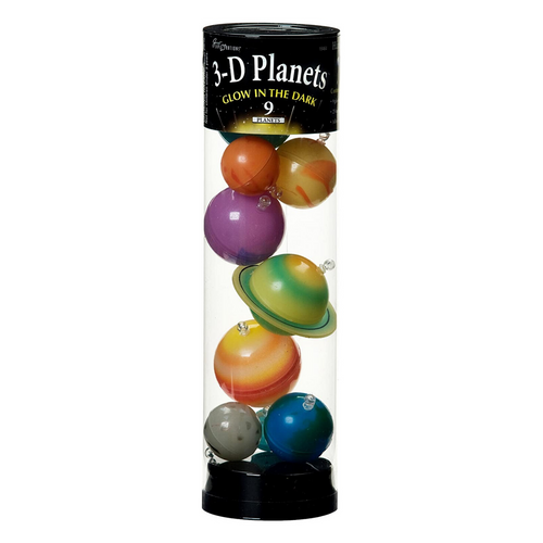 3D Planets in a Tube