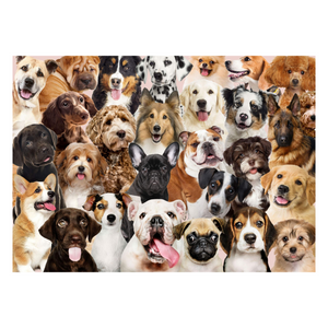 All The Dogs 1000-Piece Puzzle