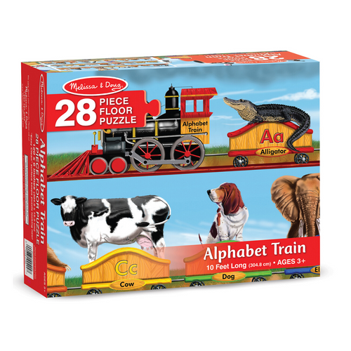 Alphabet Train 28-Piece Floor Puzzle