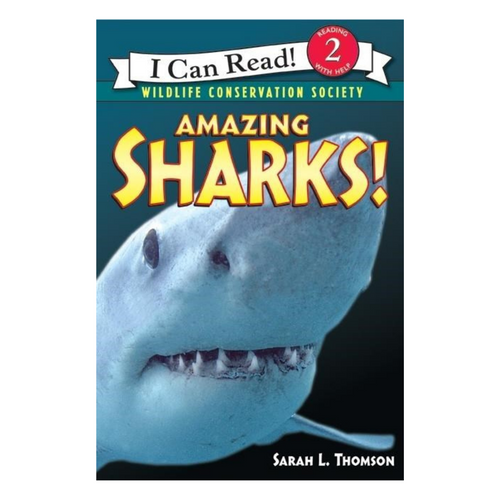 Amazing Sharks! (I Can Read Book Level 2)