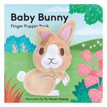 Load image into Gallery viewer, Baby Bunny: Finger Puppet Book