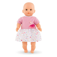 Load image into Gallery viewer, Baby Doll Outfit - Royal Swan Dress