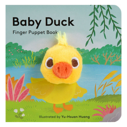 Baby Duck: Finger Puppet Book