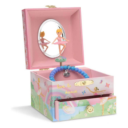 Ballerina Musical Jewelry Box With Drawer