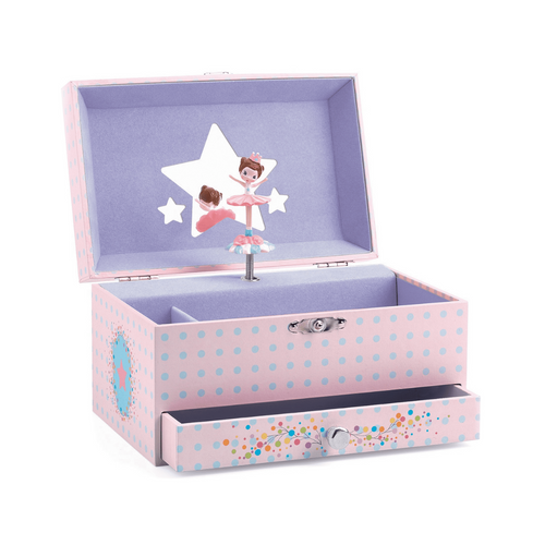 Ballerina's Tune Musical Jewelry Box