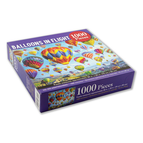 Balloons in Flight 1000-Piece Puzzle