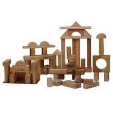 Load image into Gallery viewer, Beka Wooden Block Set 68 Pieces