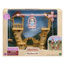 Load image into Gallery viewer, Calico Critters Baby Ropeway Park