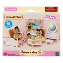 Load image into Gallery viewer, Calico Critters Bedroom & Vantiy Set