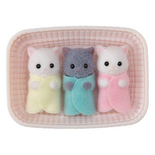 Load image into Gallery viewer, Calico Critters - Persian Cat Triplets
