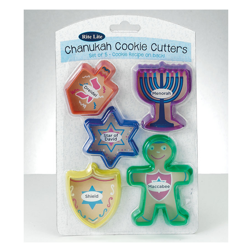 Chanukah Cookie Cutter Set