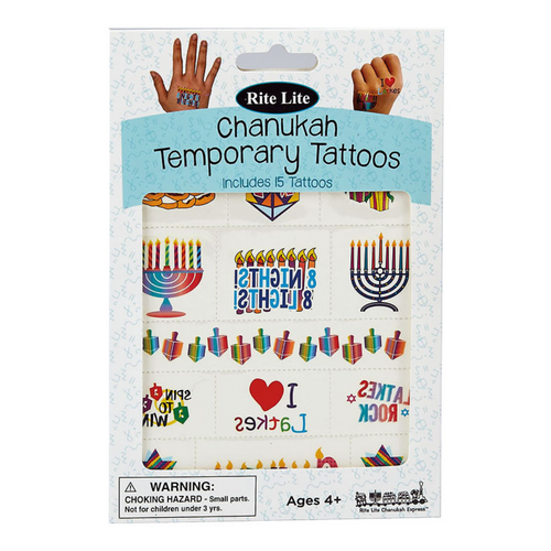 Chanukah Temporary Tattoos