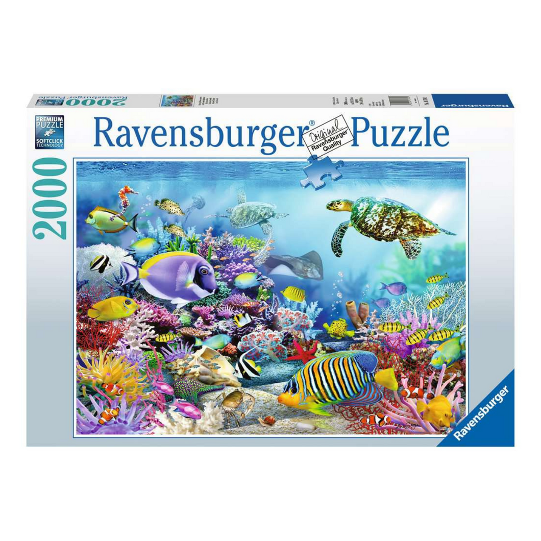 Coral Reef Majesty 2000-Piece Puzzle