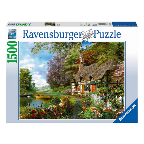 Country Cottage 1500-Piece Puzzle