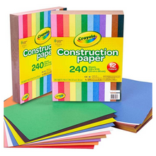 Load image into Gallery viewer, Crayola Construction Paper 240 Count