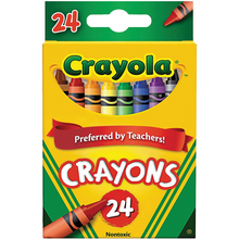 Load image into Gallery viewer, Crayola Crayons 24 Count