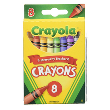 Load image into Gallery viewer, Crayola Crayons 8 Count