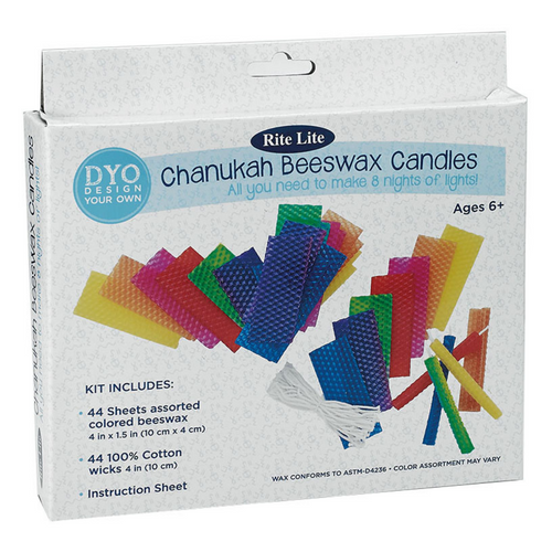 Create Chanukah Beeswax Candles